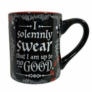 Harry Potter Black Marauder's Map Coffee Mug